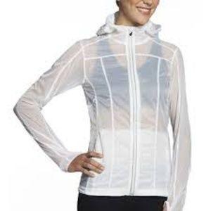 Fabletics Yalu White ZipUp athletic jacket